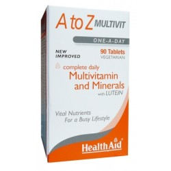 HEALTH AID A-Z MULTIVIT 90TABLETS