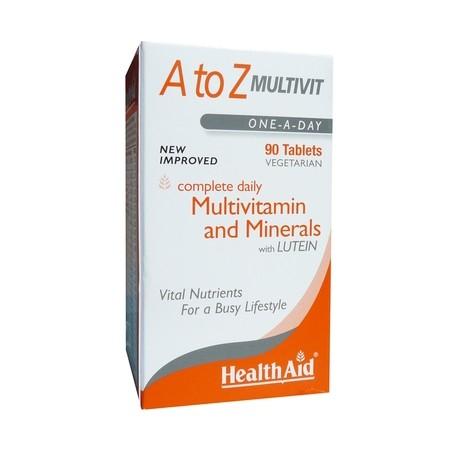 HEALTH AID A-Z MULTIVIT 90TABLETS
