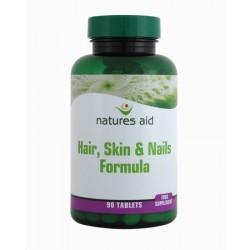 NATURES AID HR/SKN/NL TABS 90 formula tablets