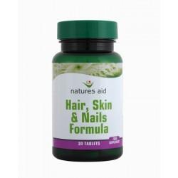 NATURES AID HAIR, SKIN & NAILS FORMULA 30TABLETS