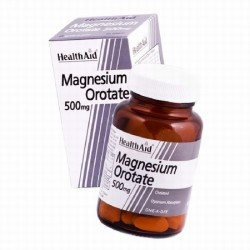 HEALTH AID MAGNESIUM OROTATE 30TABLETS
