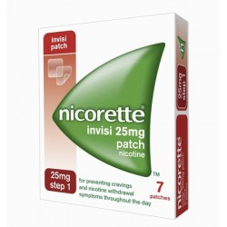 NICORETTE INVISI-PATCH 25MG STEP 1