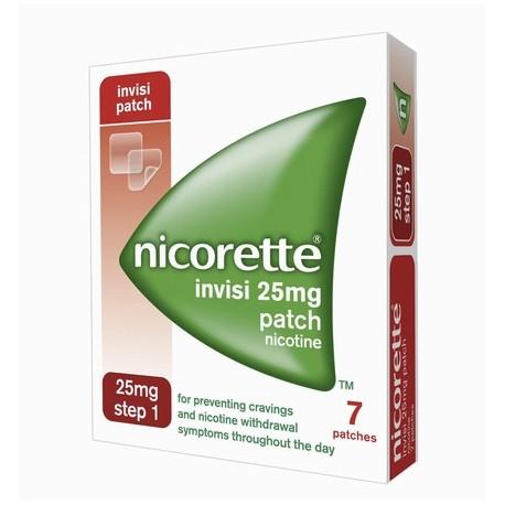 NICORETTE INVISI-PATCH 25MG STEP 1