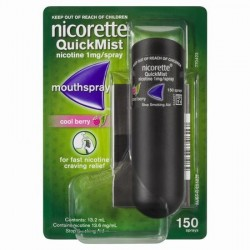 NICORETTE QUICKMIST 1MG MOUTHSPRAY BERRY