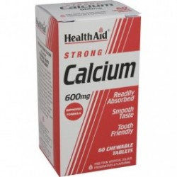 HEALTH AID CALCIUM 600MG 60TABLETS