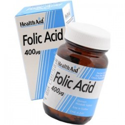 HEALTH AID FOLIC ACID 400MG 90 TABLETS