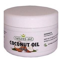 NATURES AID COCONUT OIL 100G