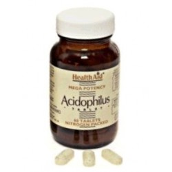 HEALTH AID ACIDOPHILUS MEGA POTENCY 60TABLETS