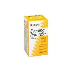 HEALTH AID EVENING PRIMROSE OIL 500MG 120CAPSULES
