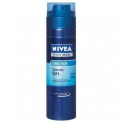NIVEA FOR MEN SHAVING GEL COOL KICK 200ML