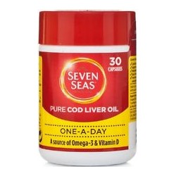 SEVEN SEAS PURE COD LIVER OIL 30 CAPS