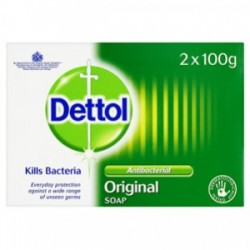 DETTOL ANTI-BACTERIAL SOAP 2x100G