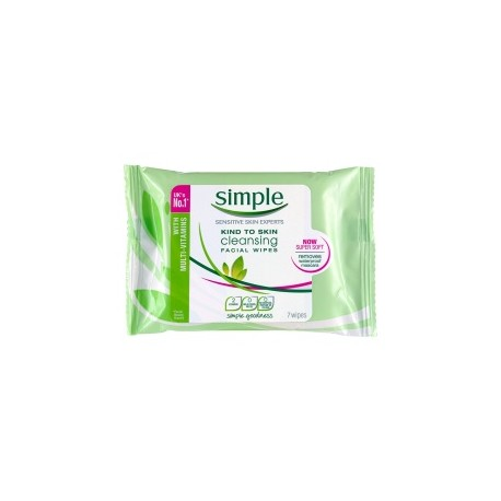 SIMPLE FACIAL WIPES 25 WIPES