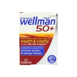 WELLMAN 50+ 30 TABLETS