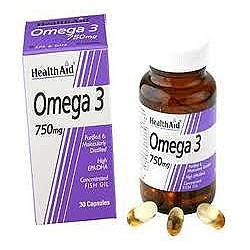 HEALTH AID OMEGA-3 750MG 30CAPS