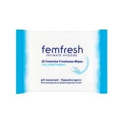 FEMFRESH CLEANSING WIPES 20 WIPES
