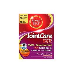 SEVEN SEAS JOINTCARE MAX DUO PACK 30+30