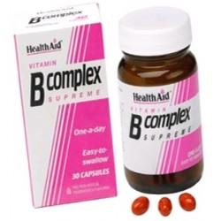 HEALTH AID VITAMIN B COMPLEX 30CAPSULES