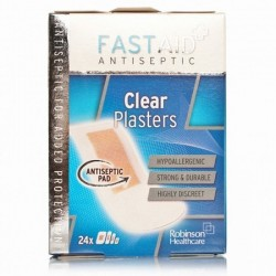 FAST AID CLEAR 24 PLASTERS