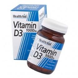 HEALTH AID D3 1000iu 30 TABLETS