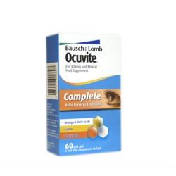 OCUVITE COMPLETE eye vit & min 60 complete capsules