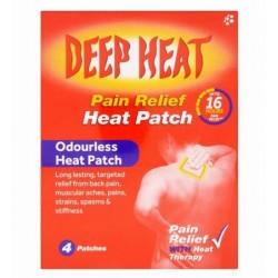 DEEP HEAT PATCH X4