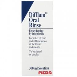DIFFLAM ORAL RINSE 300ML oral rinse  0.15% w/v