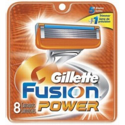 GILLETTE FUSION POWER BLADES 8'S