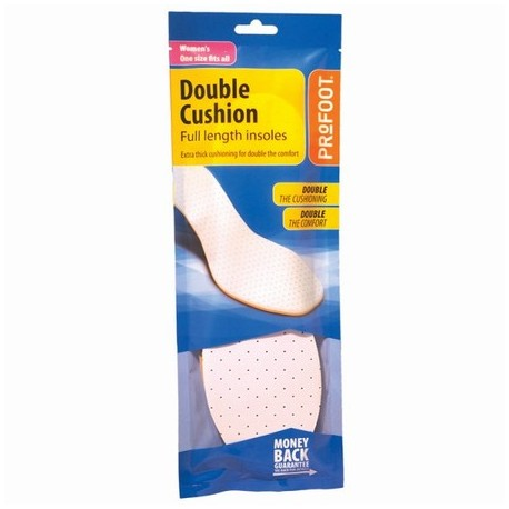 DOUBLE CUSHION WOMENS INSOLE