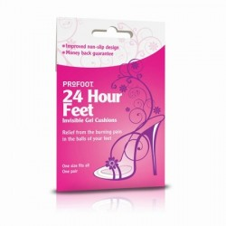 24 HOUR FEET INVISIBLE GEL CUSHIONS
