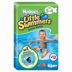 HUGGIES LITTLE SWIMMERS 3-4 X12