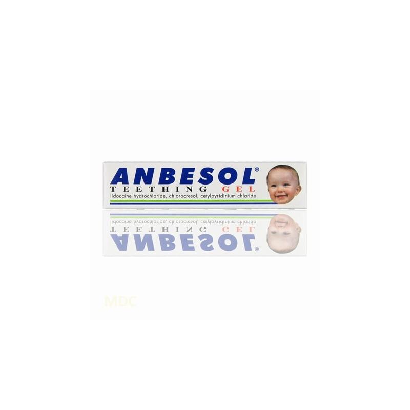 anbesol teething gel babies 10g