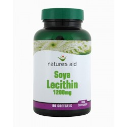 NATURES AID LECITHIN 1200MG 90SOFTGELS
