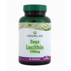 NATURES AID LECITHIN 1200MG 90SOFTGELS