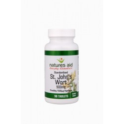 NATURES AID ST.J WORT TABS 90 st johns wort 500mg  500mg