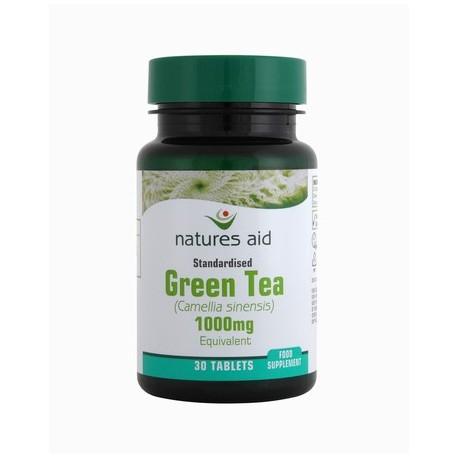 NATURES AID green tea tabs 3.1mg 30 green tea 3.1mg
