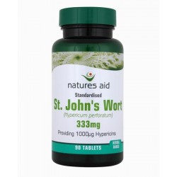 NATURES AID ST.J WORT TABS 90 st johns wort 333mg