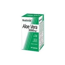 HEALTH AID ALOE VERA 5000MG 30 CAPSULES