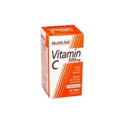 HEALTH AID VITAMIN C 500MG 60 chewable tablets