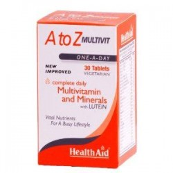HEALTH AID A-Z MULTIVIT 30TABLETS