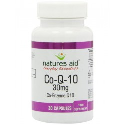 NATURES AID CO-ENZYME Q10 30MG 30CAPSULES