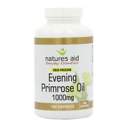 NATURES AID EVENING PRIMROSE 1000MG 180 CAPSULES
