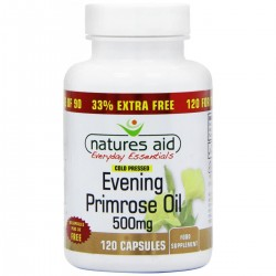 NATURES AID EVENING PRIMROSE OIL 500MG 120CAPSULES