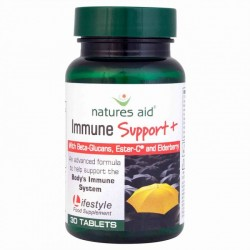 NATURES AID IMMUNE SUPPORT PLUS 30TABLETS