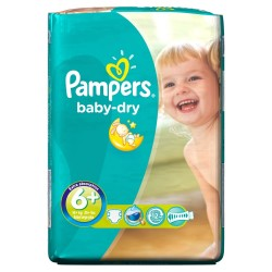 PAMPERS 6+