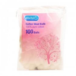 ALVITA cotton wool balls 100 balls