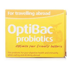OPTIBAC supp For travel abroad 60 for travelling abroad