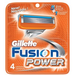 GILLETTE CART FUSION POW 4 Fusion Power